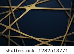 abstract luxury gold lines and... | Shutterstock .eps vector #1282513771