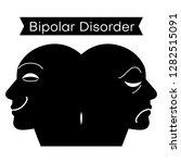 mood disorder. split... | Shutterstock .eps vector #1282515091