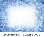 close up of ice | Shutterstock . vector #1282562977