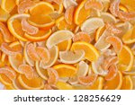 Fruits Backgrounds   Mandarin