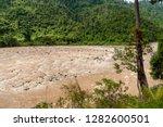 Padas River Seen From Sabah...