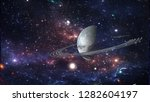 planets and galaxy  cosmos  ... | Shutterstock . vector #1282604197