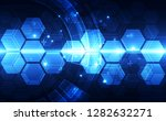 vector future digital speed... | Shutterstock .eps vector #1282632271