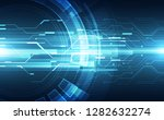vector future digital speed... | Shutterstock .eps vector #1282632274