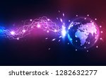 vector digital global electric... | Shutterstock .eps vector #1282632277