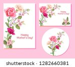set of templates for mother's... | Shutterstock .eps vector #1282660381