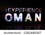 muscat oman 01.13.2019... | Shutterstock . vector #1282680307