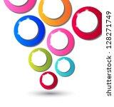 illustration abstract... | Shutterstock .eps vector #128271749
