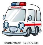 illustration of ambulance vector | Shutterstock .eps vector #128272631