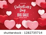 valentine's day love and... | Shutterstock .eps vector #1282735714