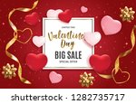 valentine's day love and... | Shutterstock .eps vector #1282735717