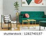 luxury and modern home interior ... | Shutterstock . vector #1282740157
