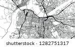 urban vector city map of... | Shutterstock .eps vector #1282751317