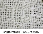fabric macro texture as very... | Shutterstock . vector #1282756087