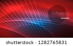 neon glowing magic background ...   Shutterstock .eps vector #1282765831