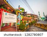 singkawang  west kalimantan ... | Shutterstock . vector #1282780807