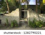entrance door of an abandoned... | Shutterstock . vector #1282790221