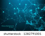 abstract vector illuminated...   Shutterstock .eps vector #1282791001