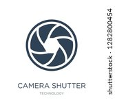 camera shutter icon vector on... | Shutterstock .eps vector #1282800454