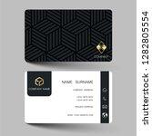creative business card design...   Shutterstock .eps vector #1282805554