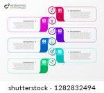 infographic design template....   Shutterstock .eps vector #1282832494