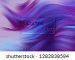 modern colorful flow poster.... | Shutterstock .eps vector #1282838584