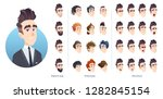 business character avatar kit ... | Shutterstock .eps vector #1282845154