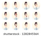 young businessman avatar... | Shutterstock .eps vector #1282845364