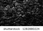 natural fire ashes with dark... | Shutterstock . vector #1282880224