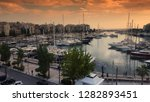 piraeus  greece  november 21 ... | Shutterstock . vector #1282893451