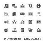 20 survey  database  xlsx ... | Shutterstock .eps vector #1282902667