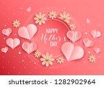 best mom   mum ever pink...   Shutterstock .eps vector #1282902964