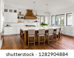 Beautiful Kitchen Interior In...