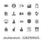 20 dossier  planet earth ...   Shutterstock .eps vector #1282909651