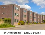 modern street with large... | Shutterstock . vector #1282914364
