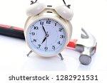 Alarm Clock And Hammer....