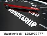 apprenticeship job training...   Shutterstock . vector #1282933777