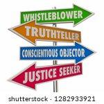 whistleblower words signs 4... | Shutterstock . vector #1282933921