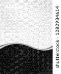 black and white background with ... | Shutterstock .eps vector #1282934614