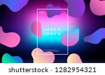 colorful minimalistic geometric ... | Shutterstock .eps vector #1282954321