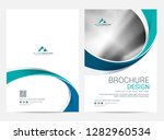 brochure template flyer design... | Shutterstock .eps vector #1282960534