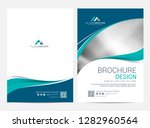 brochure template flyer design... | Shutterstock .eps vector #1282960564