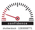low confidence   monitoring... | Shutterstock .eps vector #1283008771