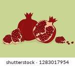 vector realistic illustration... | Shutterstock .eps vector #1283017954