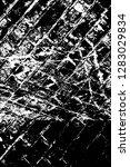 rough grunge pattern design.... | Shutterstock .eps vector #1283029834