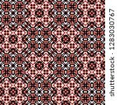 seamless pattern checkered... | Shutterstock . vector #1283030767
