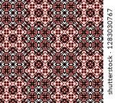 seamless pattern checkered... | Shutterstock . vector #1283030767