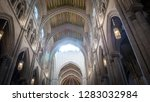 madrid   spain   november 9 ...   Shutterstock . vector #1283032984