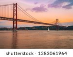 june 10  2018. lisbon  portugal.... | Shutterstock . vector #1283061964