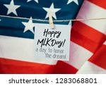 martin luther king day... | Shutterstock . vector #1283068801